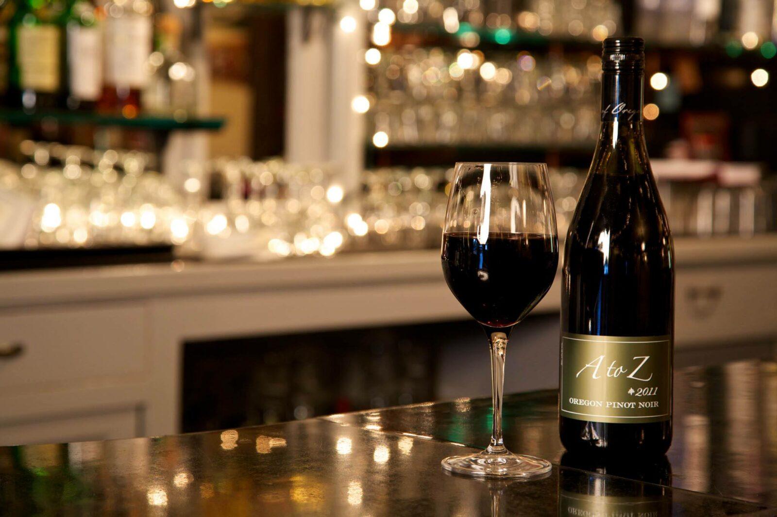 Cannon Beach Wine List